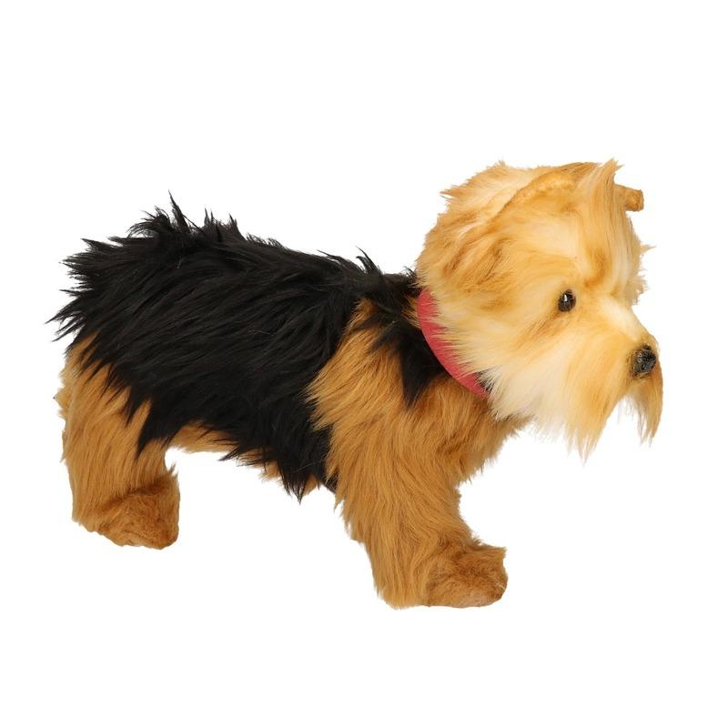 Hansa pluche Yorkshire Terrier knuffel 25 cm