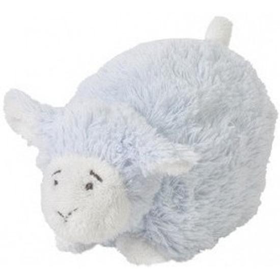 Happy Horse liggend blauw pluche lammetje 16 cm