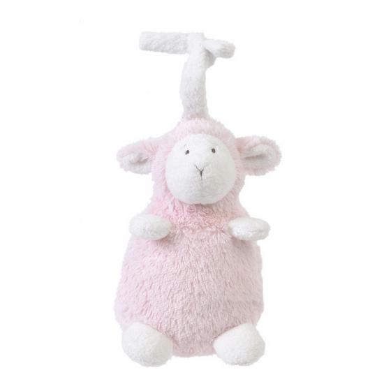 Happy Horse muziek knuffel lammetje roze