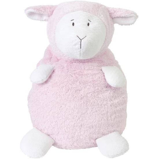 Happy Horse roze zittend pluche lammetje knuffel 26 cm