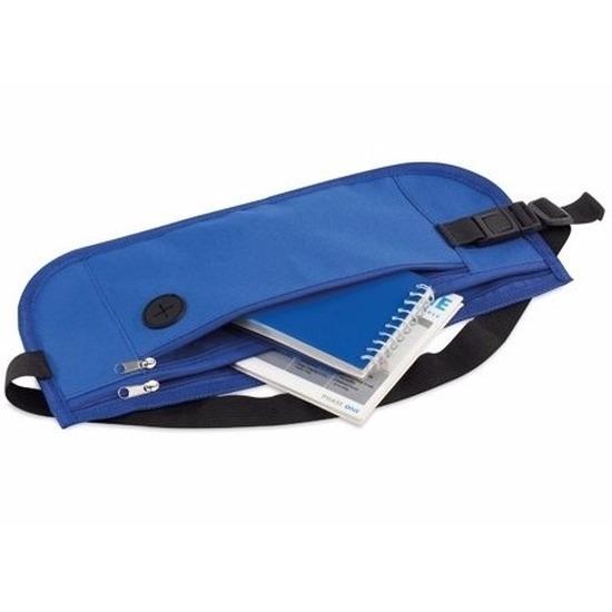 Heuptasje-fanny pack blauw 35 x 10 cm festival musthave