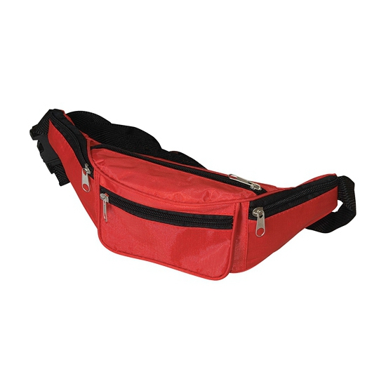 Heuptasje-fanny pack rood 29 x 10 x 6 cm festival musthave