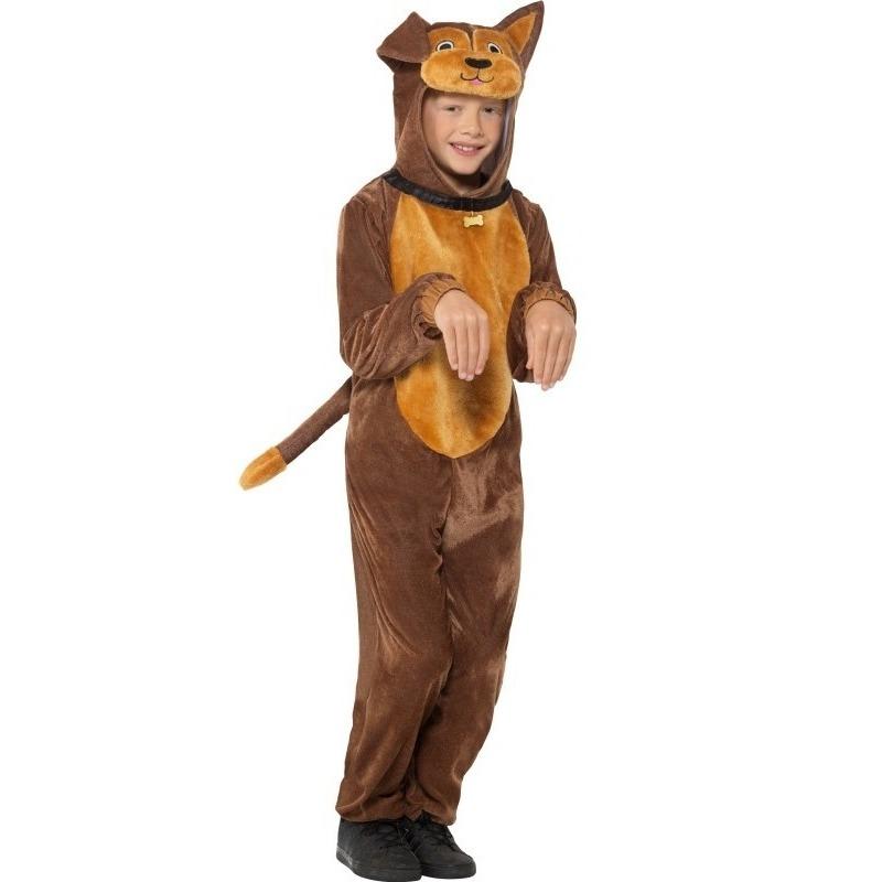 Hond onesie dierenpak kostuum voor kinderen
