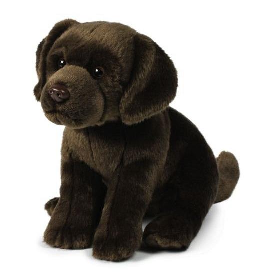 Honden knuffels labrador 26 cm