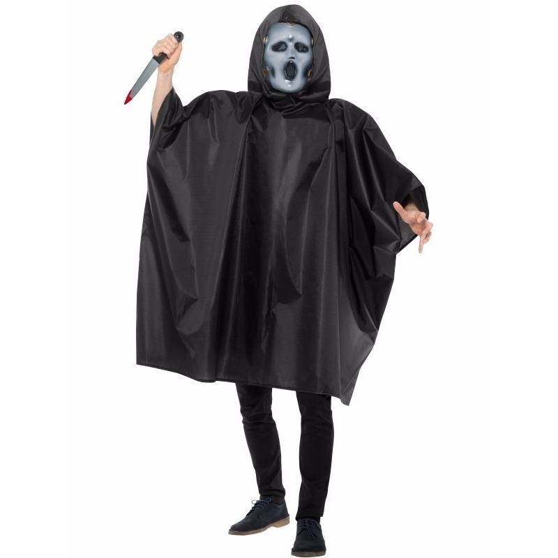 Horror Scream tv halloween kostuum voor heren