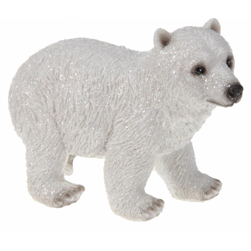 IJsbeer beeldje 15 cm type 2