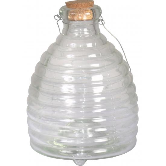 Tuin artikelen Capshopper Insectenvanger glas 15 x 19 cm