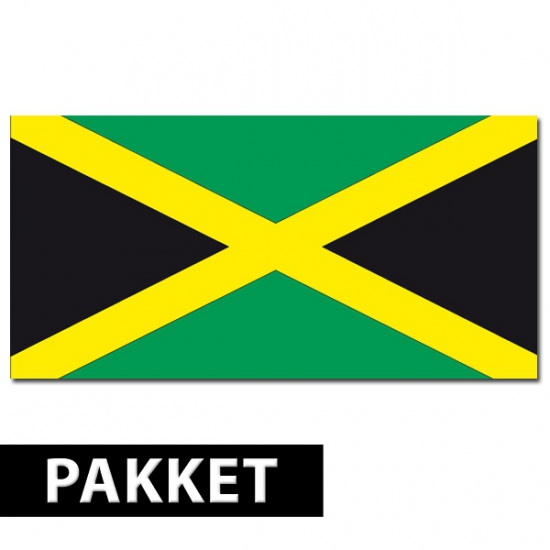 Jamaica feest thema decoratie