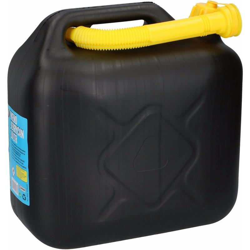 Jerrycan 10 liter zwart Geen te koop