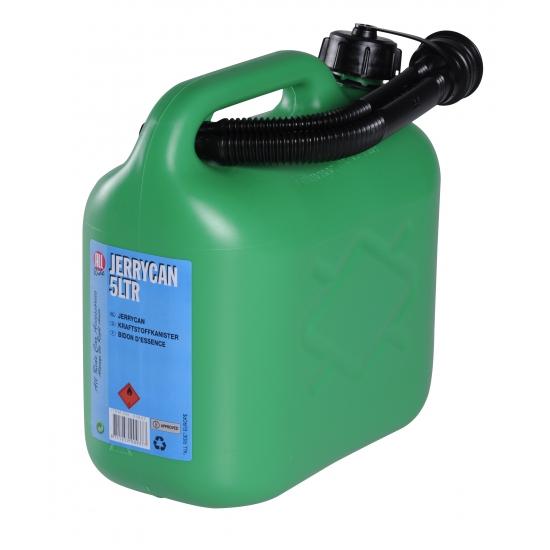 Outdoor Vakantie All ride Jerrycan 5 liter groen