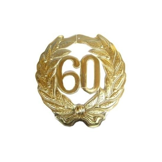 Jubileum krans goud 60 jaar