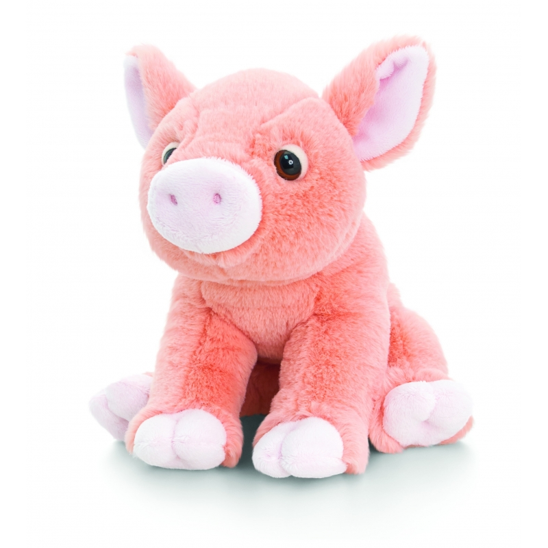 Keel Toys pluche varken knuffel 25 cm