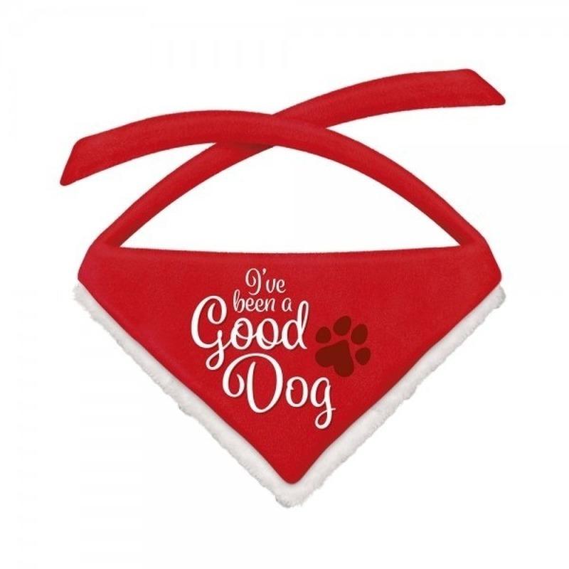 Kerst bandana voor grote honden Good Dog