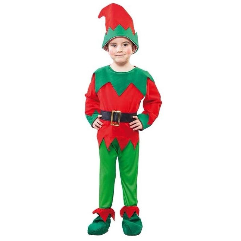 Kerst elfen kostuums voor peuters