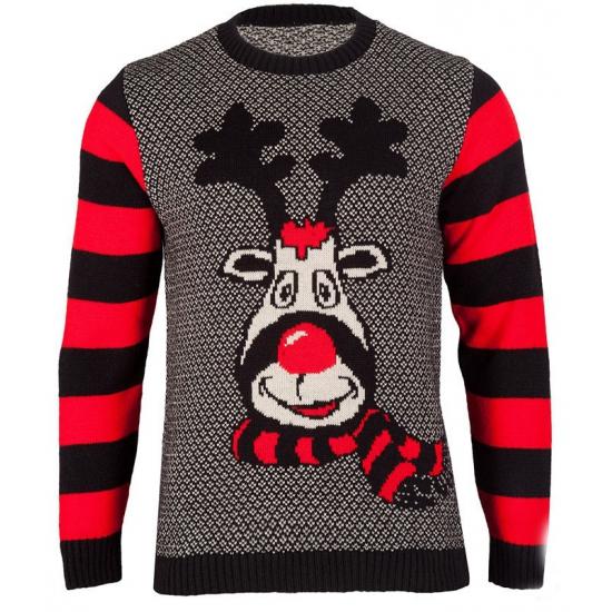 Kerst kado foute kersttrui Rudy Reindeer