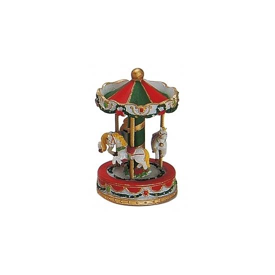 Kerstdorp carousel 10 cm