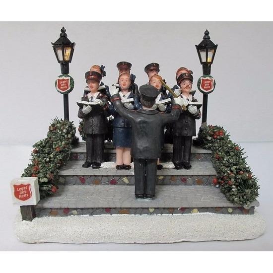 Kerstdorp Leger des Heils koor Elfstedentocht