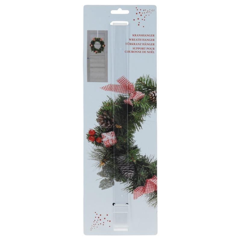 Kerstkrans hanger transparant type XMASHANGER