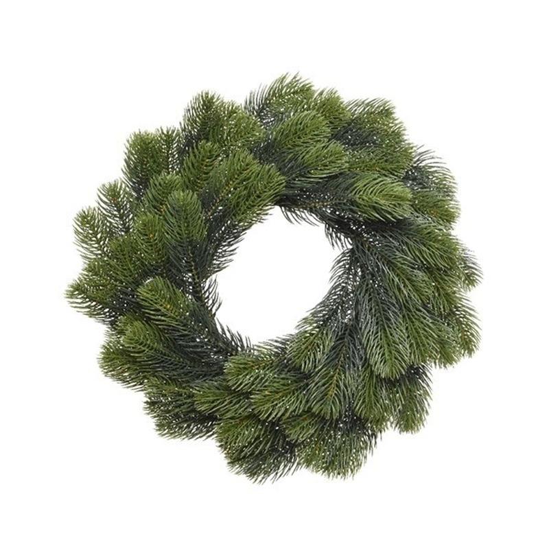 Kerstkrans voor aan de deur 40 cm