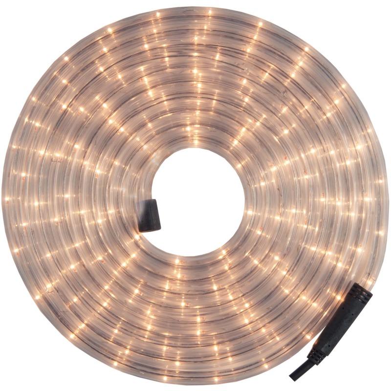 Kerstverlichting lichtsnoer-lichtslang wit 12 meter voor buiten