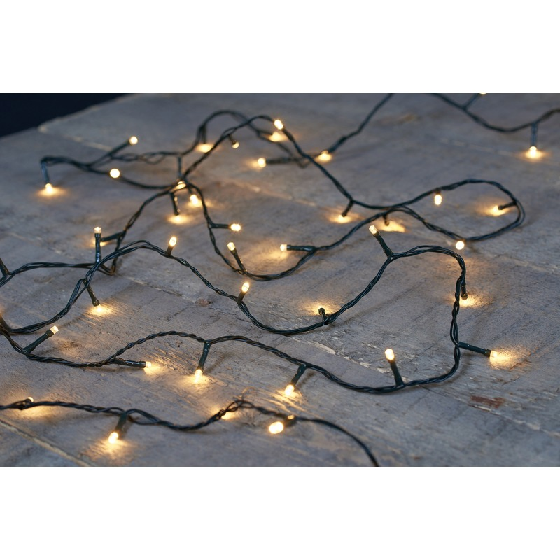 Kerstverlichting warm wit binnen-buiten 180 lampjes 18 m