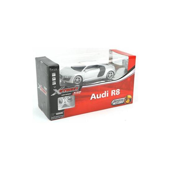 Kinderspeelgoed zilveren sport auto Audi R8