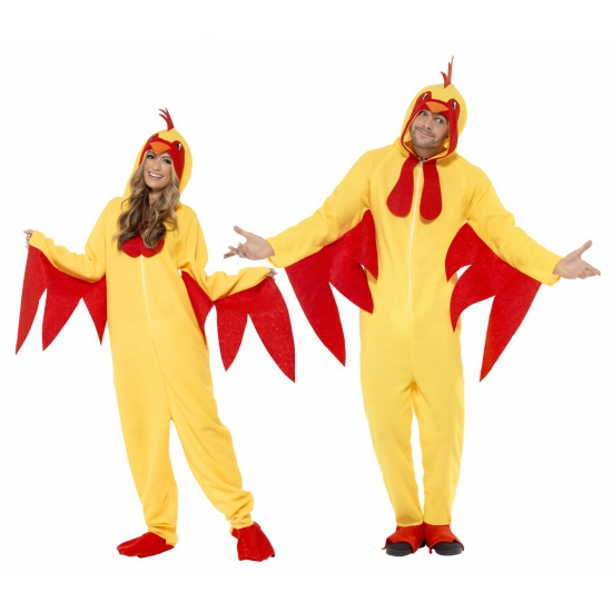 Kip kostuum voor volwassenen