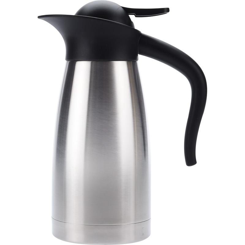 Koffiekan-thermoskan dubbelwandig 1 liter