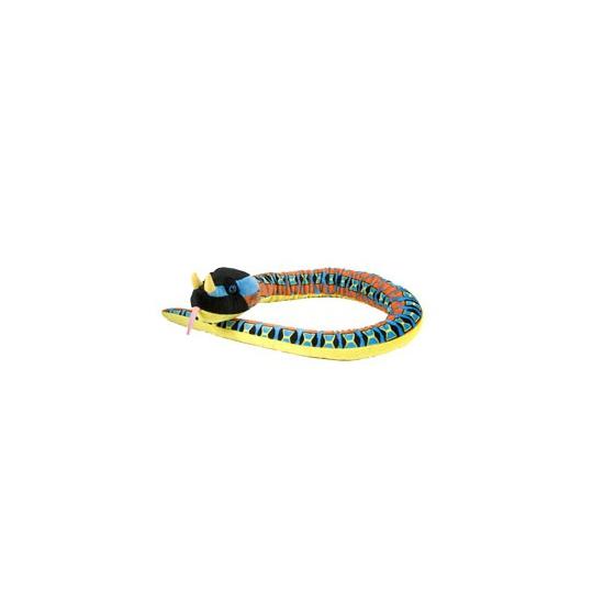 Lange adder slang knuffel 137 cm