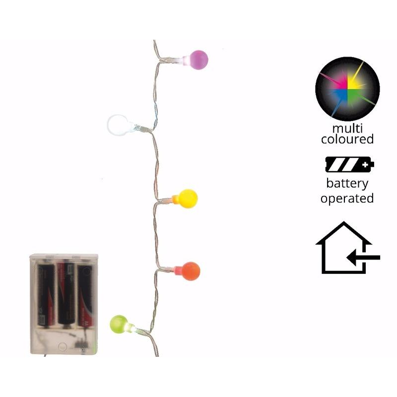 LED balverlichting multi kleur 20 lampjes