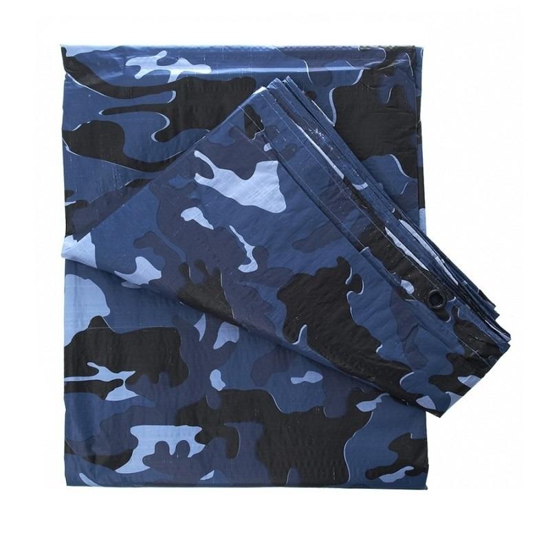 Leger thema feest camouflage afdekzeil-dekzeil 4 x 3 meter