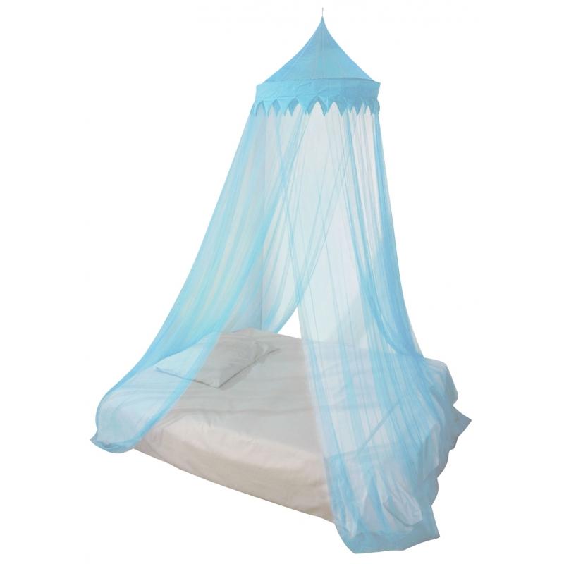 Lichtblauwe klamboe 1 of 2 persoons voor op de kinderkamer Capshopper gaafste producten