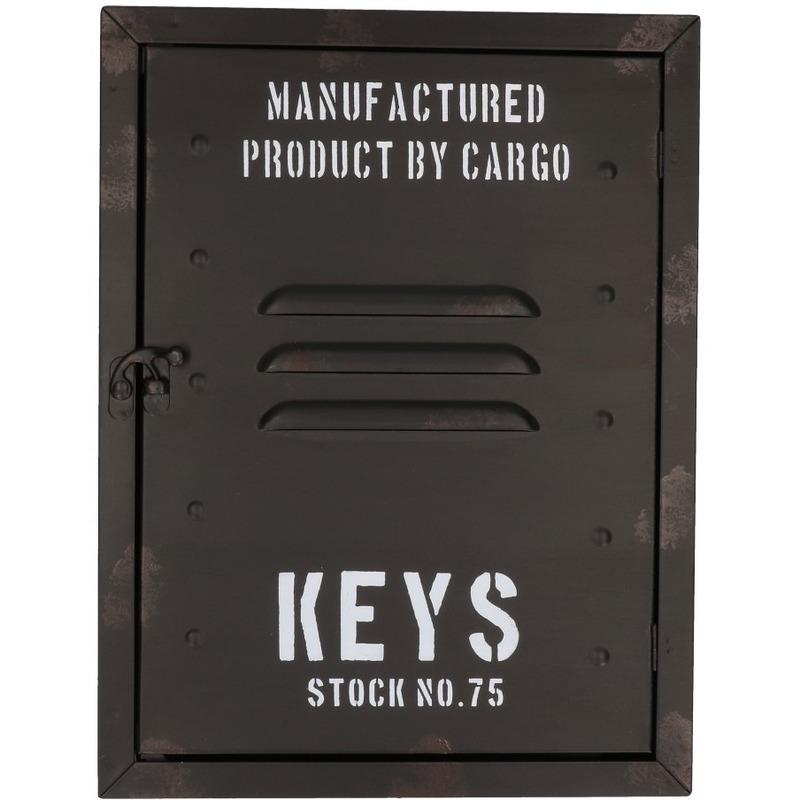 Locker sleutelkastje van metaal 30 cm