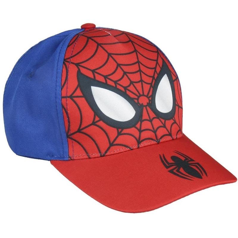 Marvel Spiderman pet-cap rood-blauw voor jongens