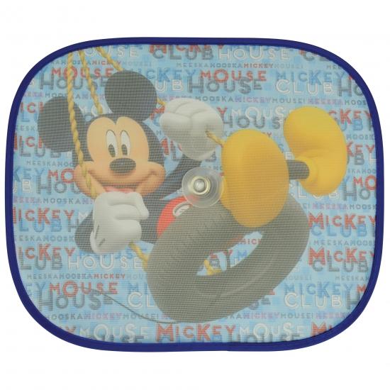 Mickey Mouse auto zonneschermen 2 stuks