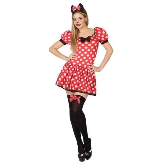 Muis-mouse verkleed kostuum-jurk voor dames