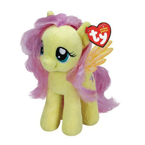 |Cartoon knuffels My Little Pony My Little Pony knuffel Flutters 15 cm