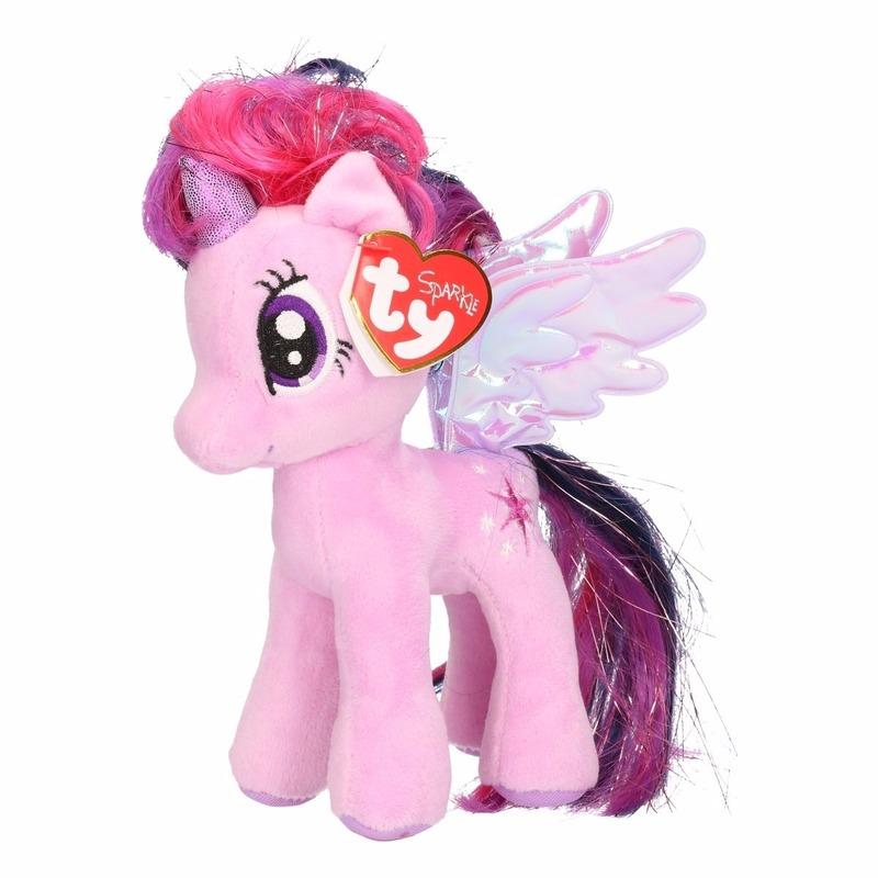 Superieur Cartoon knuffels|My Little Pony knuffel Sparkle 15 cm