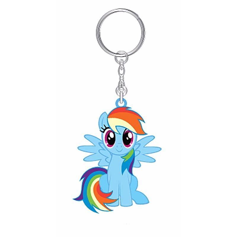 Kado My Little Pony My Little Pony sleutelhanger Rainbow Dash 7 cm voor meisjes
