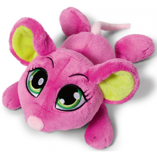Nici roze knuffel muis 50 cm