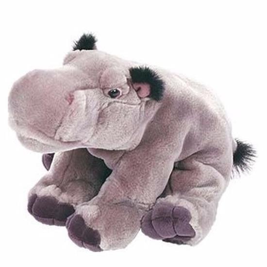Nijlpaarden dieren knuffels