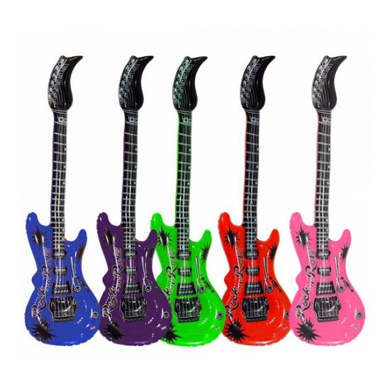 Opblaas elektrische gitaar 55 cm