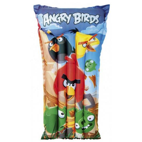 Opblaasbaar Angry Birds luchtbed-matras 119 x 61 cm