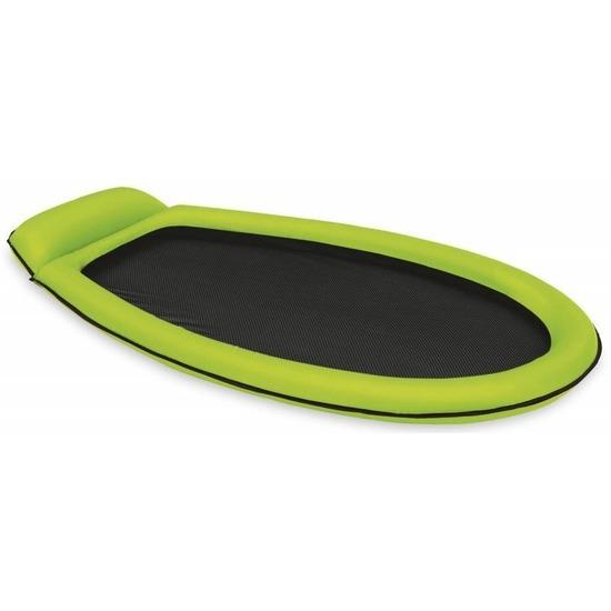 Opblaasbaar Intex luchtbed-loungebed groen 178 x 94 cm
