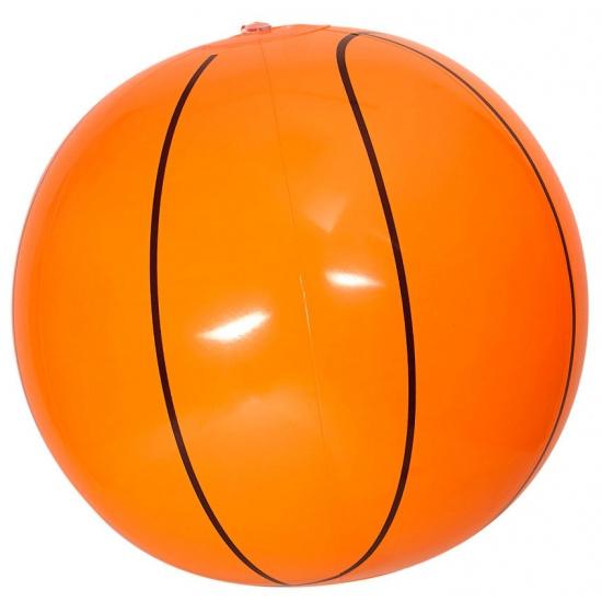 Opblaasbare basketbal 25 cm