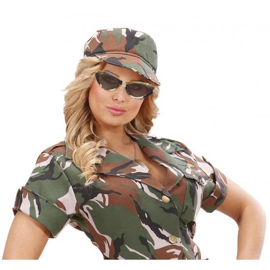 Ovale camouflage brillen