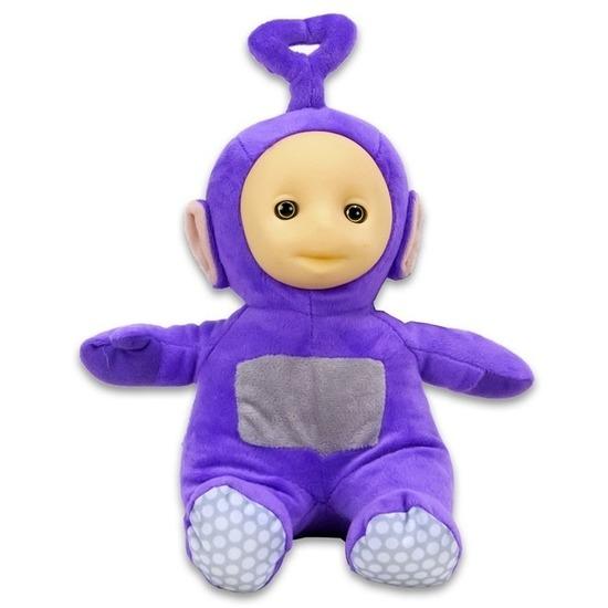 Paarse Teletubbie Tinky Winky knuffel-pop 26 cm