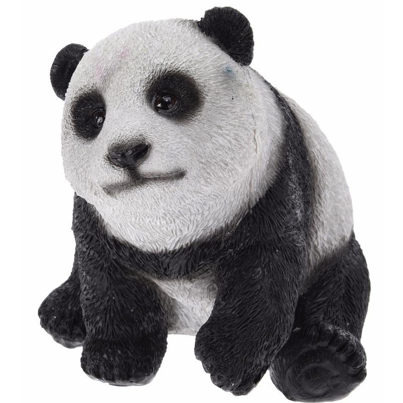 Panda beeldje 14 cm type 2
