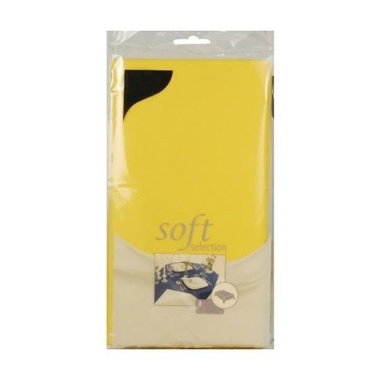 Pasen tafelkleed geel 120 x 180 cm vlies-textiel