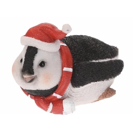 Pinguin beeldje 10 cm type 4